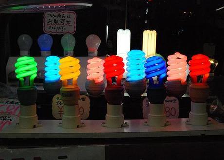Akihabara light bulb shop por katclay.