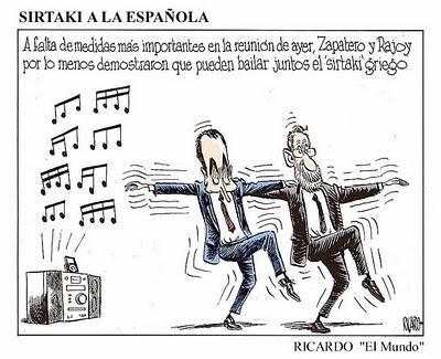 zapatero prestamo a grecia