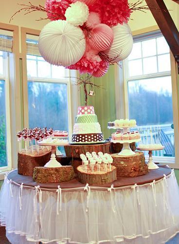 Lunes mesas de dulces manteles paperblog - Ideas para hacer manteles ...
