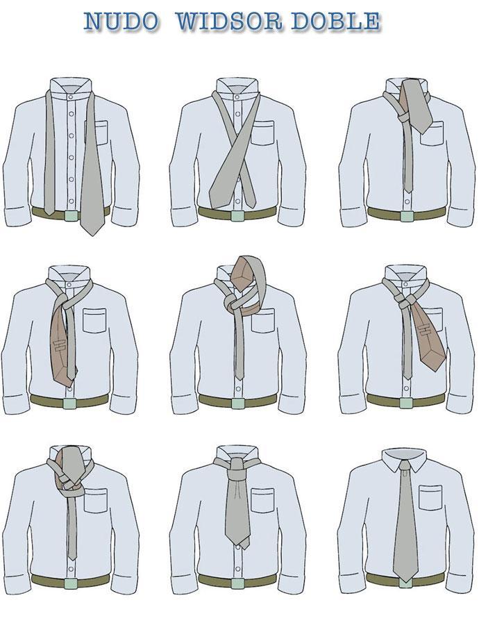 Aprenda a hacer nudos de corbata paperblog for Nudo de corbata windsor