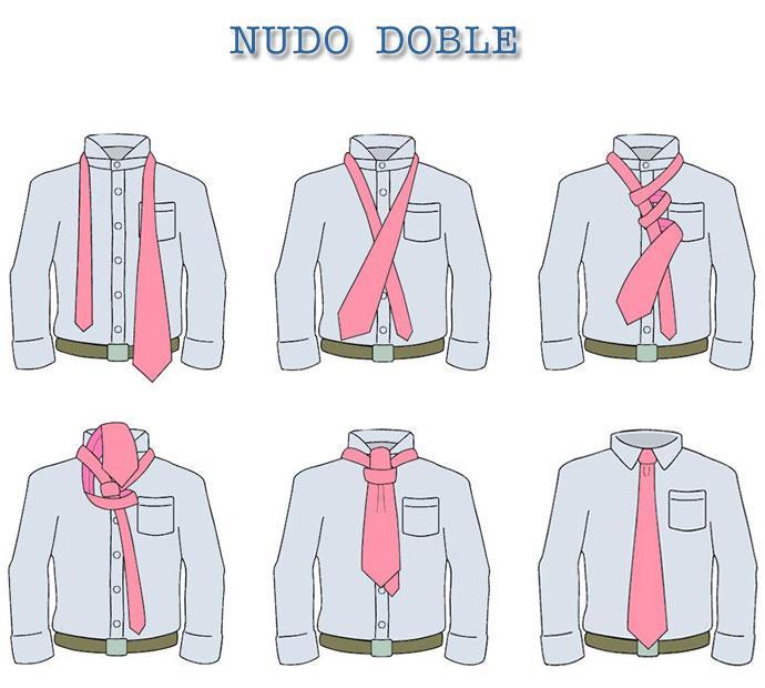 aprenda a hacer nudos de corbata paperblog On nudo de corbata facil
