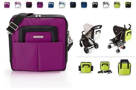 Bolso Noname para silla de paseo o carrito: práctico y de diseño