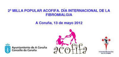 II Milla popular ACOFIFA en el Día Internacional de la Fibromialgia, La Coruña