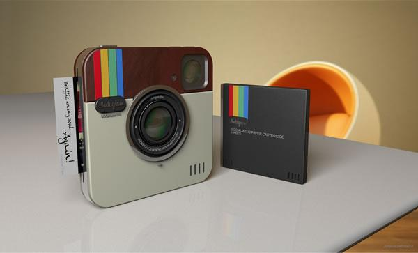Instagram Socialmatic Camera :: cámara para Instagram