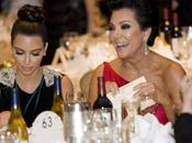 Kris Jenner Kardashian: palo astilla