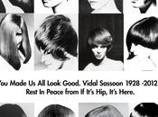 """Vidal Sassoon"" tributo eterno peluquero cine"