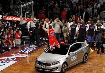Blake Griffin, concurso de mates en el All Star NBA 2011