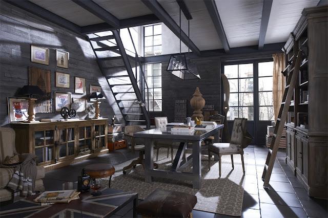 La decoraci n vintage e industrial de dialma brown paperblog for Decoracion retro industrial