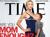 Polémica portada 'Time' sobre lactancia
