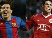 substancia forma. Messi frente Cristiano Ronaldo.