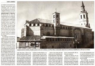 Reconstrucci n del chapitel de la solana ciudad real - Parroquia santa catalina la solana ...