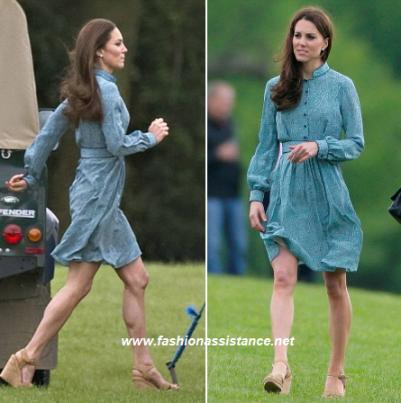 Kate Middleton De Azul Anima Al Pr 237 Ncipe Guillermo En Un