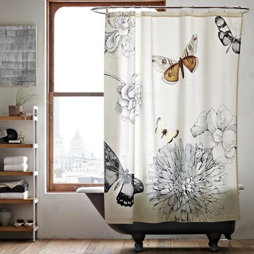 Est n de moda las cortinas de ba o paperblog for Cortinas de moda