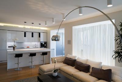 Departamento moderno en moscu paperblog for Departamentos decorados estilo moderno