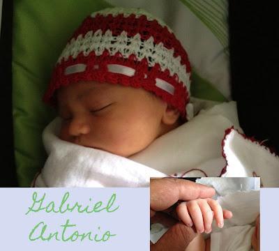 Carta para mi hijo Gabriel (recién nacido)