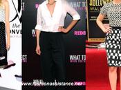 Diane Kruger, Cameron Díaz Scarlett Johansson, estilo blanco negro