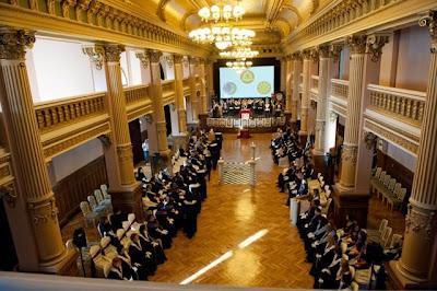 Gran ceremonia del 90º aniversario de la Gran Logia Femenina de Rumania
