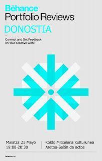 Behance Portfolio Reviews, la red social para creativos llega a Donostia