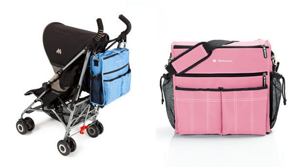 Bolsos para cochecito o silla de paseo urban de bebemon for Carrito bebe maclaren