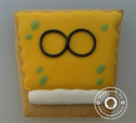 Paso a paso: hacer galletas de Bob Esponja