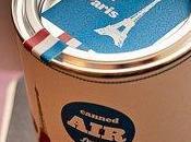 empresa line comercializa aire enlatado ciudades como París Berlín