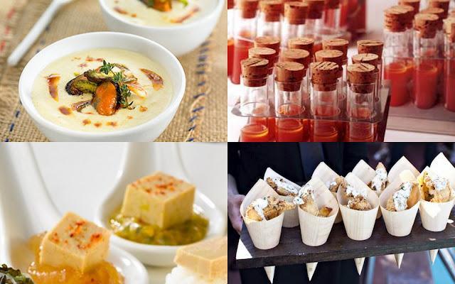 Aperitivos gourmet muy f ciles paperblog for Platos para aperitivos