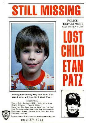 El caso de Etan Patz