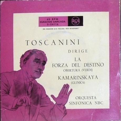 Toscanini dirige Verdi y Glinka