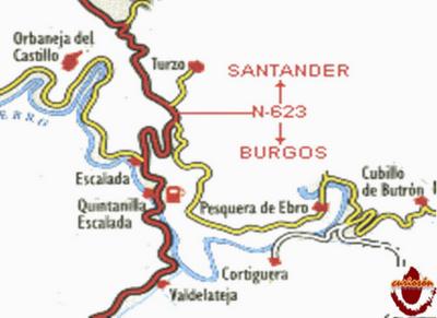 Orbaneja Del Castillo Mapa.Orbaneja Del Castillo Paperblog