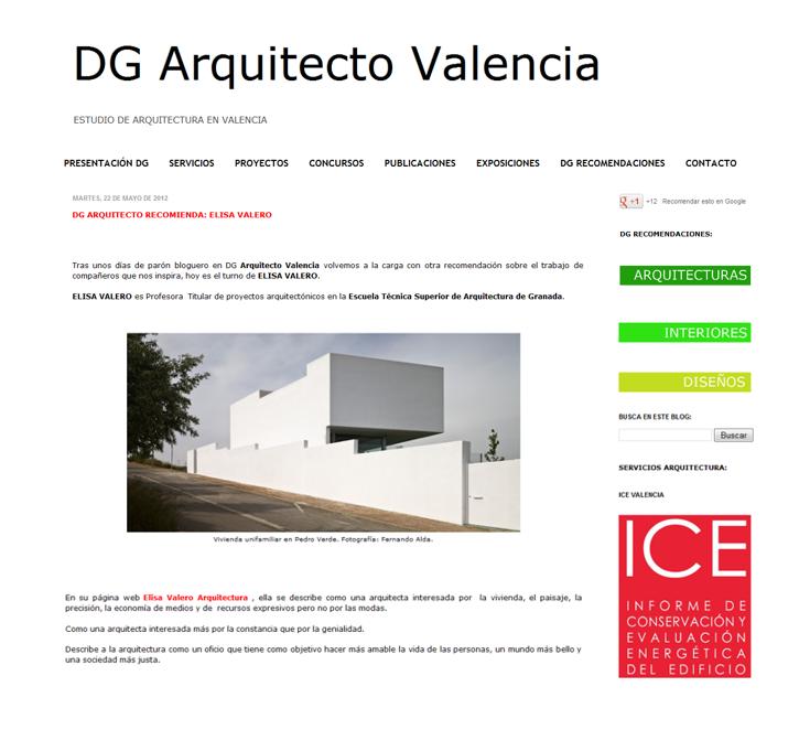 Dg arquitecto valencia paperblog - Arquitectos en valencia ...