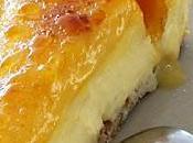 Tarta crema catalana yema tostada