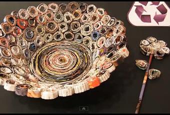 Os ense amos a hacer una cesta con revistas viejas paperblog - Como mantener la casa limpia y perfumada ...