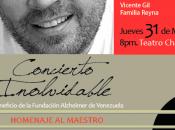 Goyo Reyna ofrece Concierto Homenaje Freddy Teatro Chacao