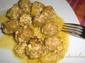 Albóndigas manzana curry