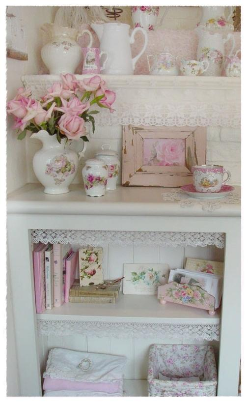 Shabby chic deco pictures for Deco murale shabby chic