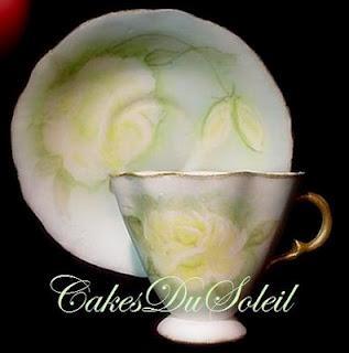 Paso a paso: Hacer una taza de té con pastillaje