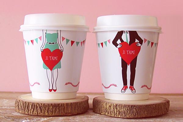 Vasos de papel personalizados paperblog - Decorar vasos plasticos para cumpleanos ...