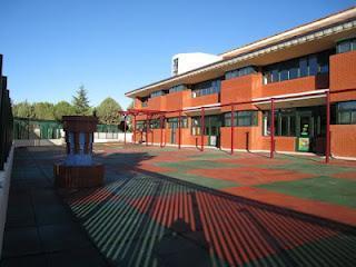 Zona de educación infantil del colegio San Agustín de los Negrales