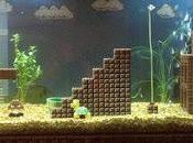 Asombrosa pecera Super Mario