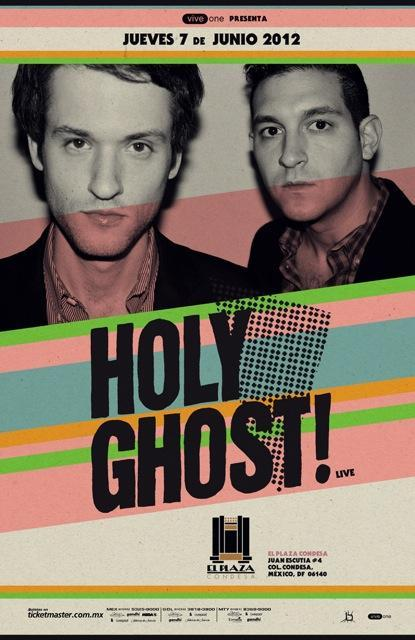HOLY GHOST! en  Plaza Condesa