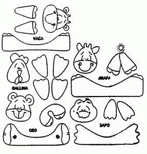 Diseño animales de plástico: Jirafa, oso, vaca, gallina y rana - 02/10 Manualidades con botellas de plástico