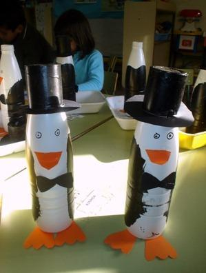 6 manualidades  hechas con botellas de plástico vacias