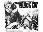 gato negro Edgar Allan Cómic