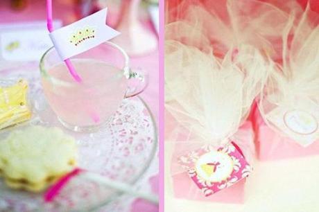 bebida de princesas rosa