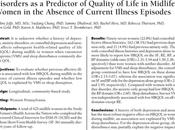 Antecedente depresión ansiedad como predictor calidad vida mujeres adultas episodio actual enfermedad Joffe col.
