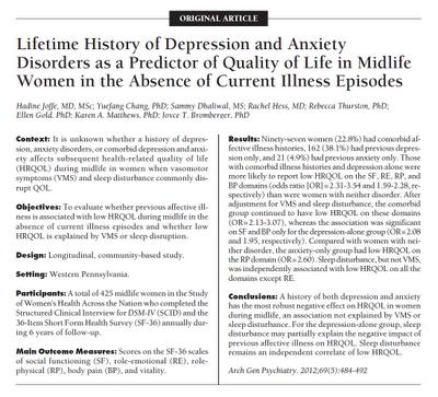 sintomas de ansiedad severa