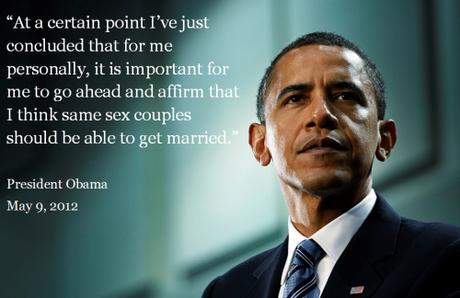 Barack Obama ha reiterado su apoyo al matrimonio igualitario