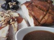 Lomo cerdo horno marinado hanout vino dulce moscatel malagueño