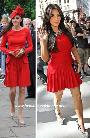 vestido rojo zapatos fucsia – vestidos para bodas