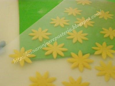 Como modelar una flor de varias formas distintas con un mismo cortador